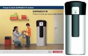 Pompe di calore per acqua sanitaria junkers –bosch supraeco